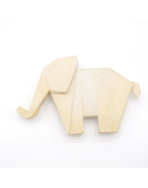 Collier/Broche ELEPHANT GOLD